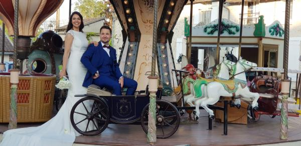 location carrousel mariage